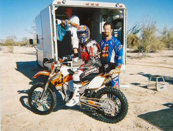 2005 San Felipe 250 Chris and Andy Testing Before The Race