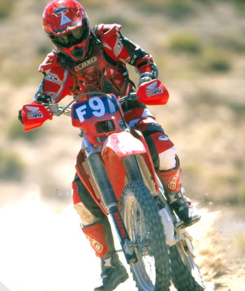 During the Vegas To Reno Race 2003