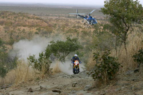 Chris in stage 12   Bamako - Labe