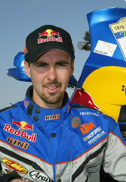 Christopher Blais US KTM/ Red Bull Dakar Photo Shoot
