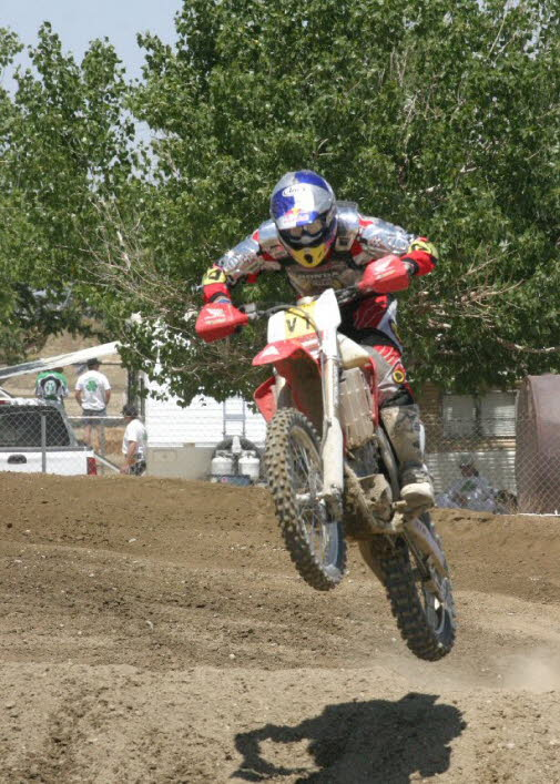 Johnny up in Palmdale in 2004.